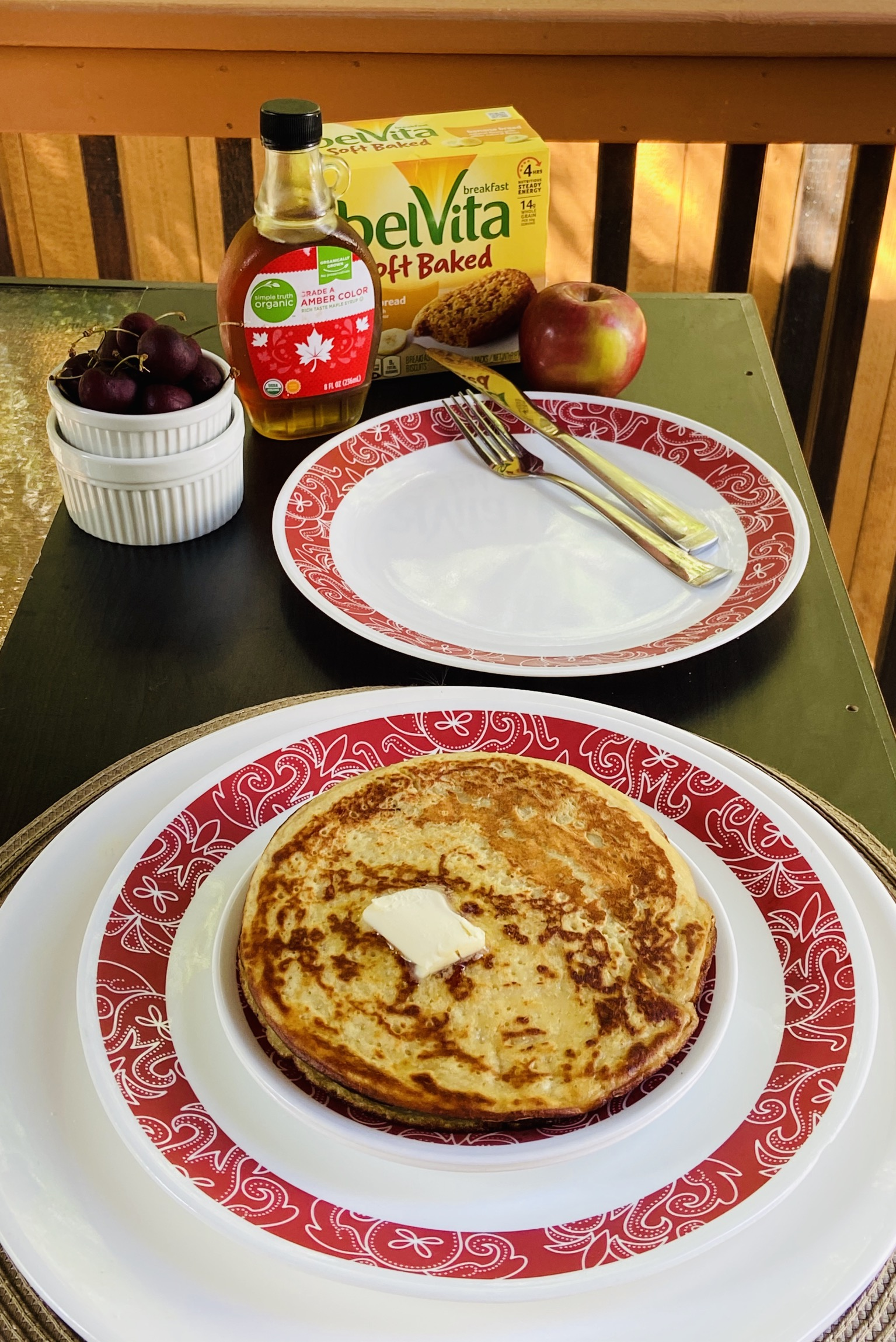 Banana Almond Pancake